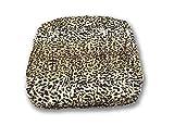 SOFFICIOSO Copridivano Angolare Universale Modello Arricciato Leopardato Angolare Leopardato