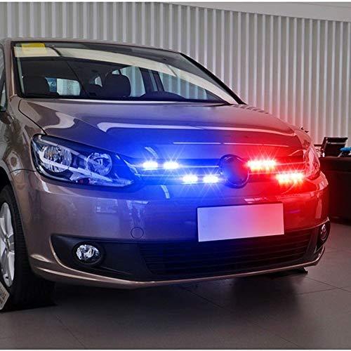 SHIJING 16W Auto Blitzlicht Blitz Fernbedienung Strobe LED Warnlicht Arbeitslicht DRL Polizei Vorsicht Pilot Lampe -