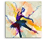 Ballett VI 60x60cm Wandbild SPORTBILD Aquarell Art tolle Farben von Paul Sinus