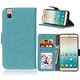 High-end PU Leather Phone Case For Huawei Honor 7i / Shot