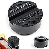 PLANGER - Hochwertige Wagenheber Gummiauflage für Hebebühnen - Universal Gummipuffer - Abrutschsicher mit V-Nut & Waffel - Schützt Ihren Wagen dank praktischer und robuster Form