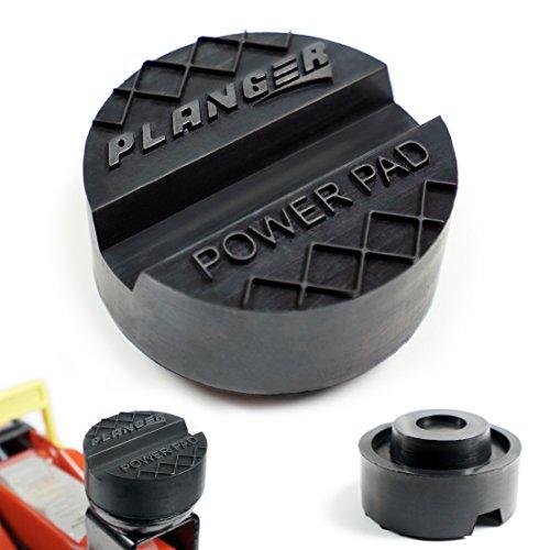 POWER PAD - Wagenheber Gummiauflage für Rangierwagenheber und Hebebühnen - Universal Gummiauflage Wagenheber - Schützt Ihren PKW und SUV dank praktischer Form und robustem Gummi. Ideal für Auto Tuning