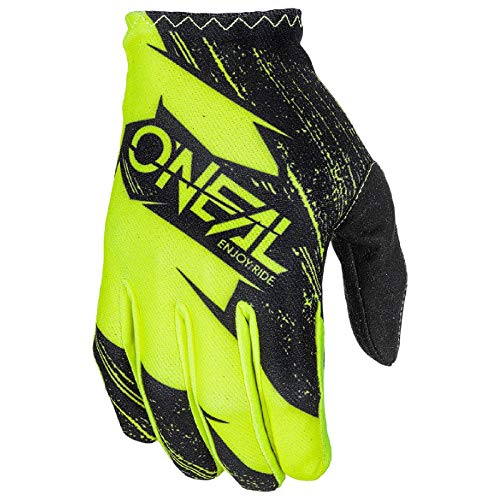 O'Neal Matrix Kinder MX Handschuhe Burnout Motocross DH Downhill Enduro Offroad Mountain Bike, 0388R-1, Farbe Gelb, Größe S