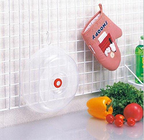 Lebensmittel, Bpa Mikrowellen-abdeckhaube Frei Für (uctop Store 22,9cm Mikrowelle Cover BPA-frei für Lebensmittel Schutz Hülle Große Schüssel Teller Topf klappbar Splatter mit Dampf)
