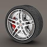 Audi TT Black Rimblades Alloy Wheel Edge Ring Rim Protectors Tyres Tire Guard Rubber Moulding