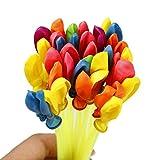 Wekold 37pcs Wasserbomben Mega-Pack Bunte Wasserballons Mehrfarbig Spielzeugset Für Spaß und Heißen Sommer