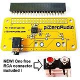 Audio DAC Hat Sound Card (Audio+) for Raspberry Pi Zero / PI3 / PI3B / PI3B+ / A+ / B+ / Pi 2 B/Better Quality Than USB