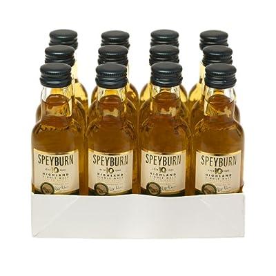 Speyburn 10 year old Single Malt Scotch Whisky 5cl Miniature - 12 Pack by Speyburn