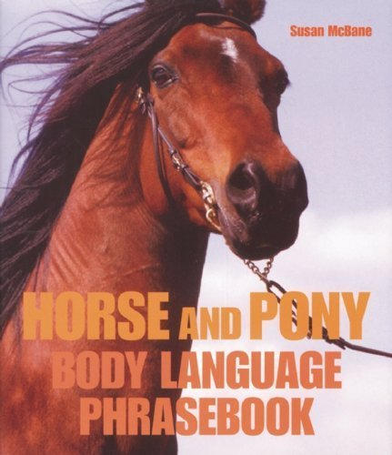 Horse and Pony Body Language Phrasebook by Susan McBane (2009-09-29)