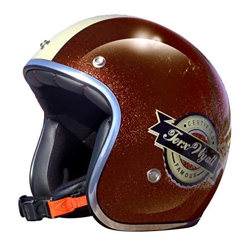 TORX Casco Moto Wyatt Famous Pearl Brown: XL