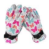 iBaste_top Handschuhe Verdickung von Outdoor-Ski-Kletterhandschuhen für Kinder Wasserdichte und winddichte Warme Handschuhe Rutschfeste Reithandschuhe