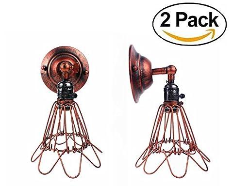 E27 Retro Industrie Industrielampe Wandleuchte Wandlampe Vintage Loft Bar Cafe