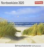 Nordseeküste Postkartenkalender 2020. Wochenkalendarium. Blockkalender. Format 16 x 17,5 cm -