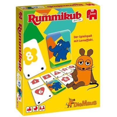 Jumbo 03962 - Rummikub Junior - Die Sendung mit der Maus