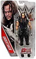WWE Undertaker Poi Now Per sempre Mattel Wrestling 6 Pollici Action Figure - Bambini Recipiente Ricreare Loro Favorito WWE Incontri - 16 Punti Di Articolazione - Celebrate Superstar Da The Passato E Regalo - Vintage Undertaker Costume - Include Scher...