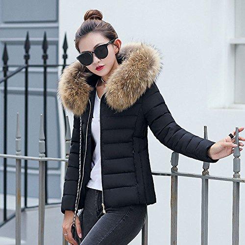 online store a9511 f8163 Pelliccia donna sintetica ecologica corta pellicciotto Giubbotto Con  cappuccio | Offerta | Coupon