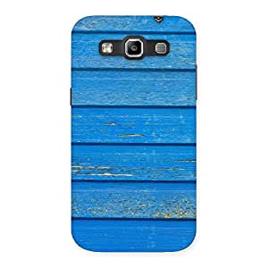 Special Blue Wood Texture Print Back Case Cover for Galaxy Grand Quattro