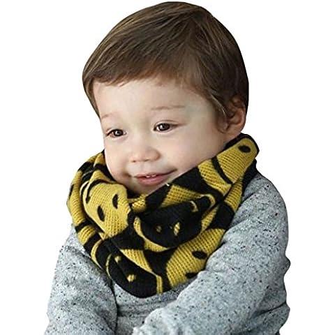 FEITONG autunno-inverno ragazzi ragazze bambino sciarpa cotone o anello collo sciarpe