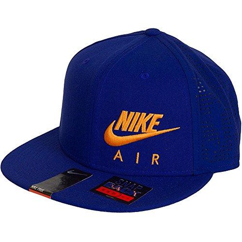 Nike Air Hybrid True–Visier Unisex, Einheitsgröße Royal/Orange