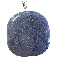 KRIO® - schöner großer Aventurin blau/Blauquarz Anhänger mit Silberöse preisvergleich bei billige-tabletten.eu