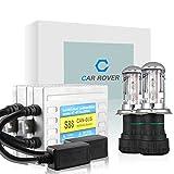 Car Rover S88H43B10K Kit de conversión de Hid Xenon H4 3 Bi Bombilla 55W 10000K