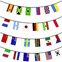 Euro 2016 Calcio Bandierine - 24 nazioni partecipanti - 10m enorme
