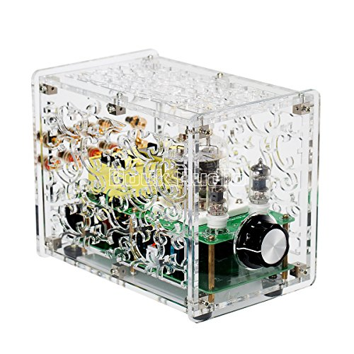Tube Amplifier; Stereo Single-Ended Power Amp; Assembled Board 3W×2 for Audiophile DIYer (with Shell) ()