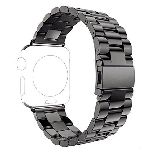 Correa-para-Apple-Watch-Series-2-1-Rosa-Schleife-iWatch-WristBand-Reemplazo-de-Banda-Smart-Watch-Band-de-Reloj-de-Acero-Inoxidable-Metlica-Pulsera-Strap-para-Apple-Watch-42mm