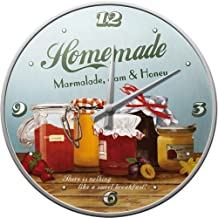 Nostalgic Art 51036 - Orologio da parete, soggetto: Home und Country Homemade Marmalade, 31 cm