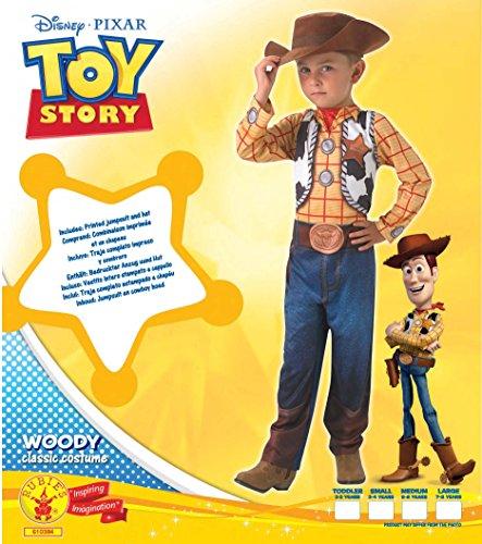 Imagen de disney  i 610384s  disfraz para niños  classic woody hat  talla s alternativa