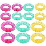 14 STÜCKE Magie Donut Donut Sticks Rollen Lockenwickler Frisur Maker DIY Tools Nicht Wärme 3 Farben
