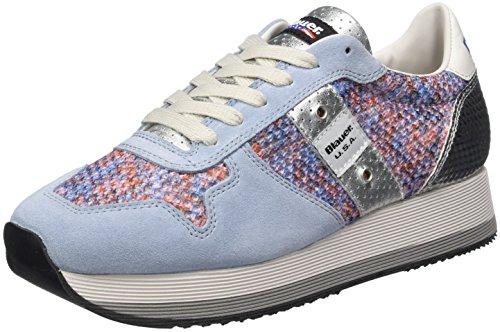 Blauer USA Fashionrun, Sneakers basses femme Mehrfarbig (Pastel)