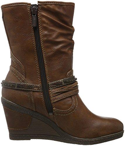 Mustang Damen 1083-508 Combat Boots Braun (301 kastanie)