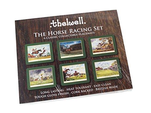 thelwell-tovagliette-horse-racing-thelwell-tovagliette-in-melamina-con-retro-in-sughero-6-pezzi-moti