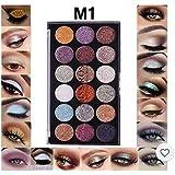 Miss Rose Professional Make Up 18-Color Glitter 7001-083M01 (32 g)