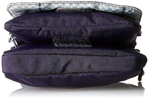 Kipling Damen Eldorado Umhängetasche, 15x19.5x0.1 cm Violett (Blue Purple C)