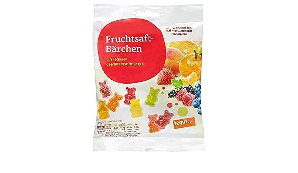 Tegut Fruchtsaft-Bärchen, 5er Pack (5 x 150 g): Amazon.de ...