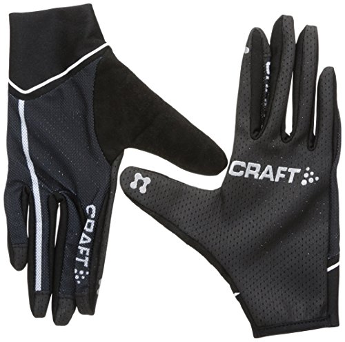 Craft Craft3 Acc Vélo Control-Guanti, unisex, Craft3 Acc Vélo Control, nero/bianco, S