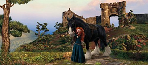 rebelle-papier-peint-photo-poster-merida-et-cheval-202-x-90-cm