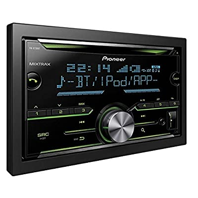 Pioneer FH-X730BT Double Din Stereo with Built-in Bluetooth USB and Aux