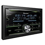Pioneer Electronics FH-X730BT Autoradio mit CD incl. Bluetooth 2DIN, Schwarz, Set of 4