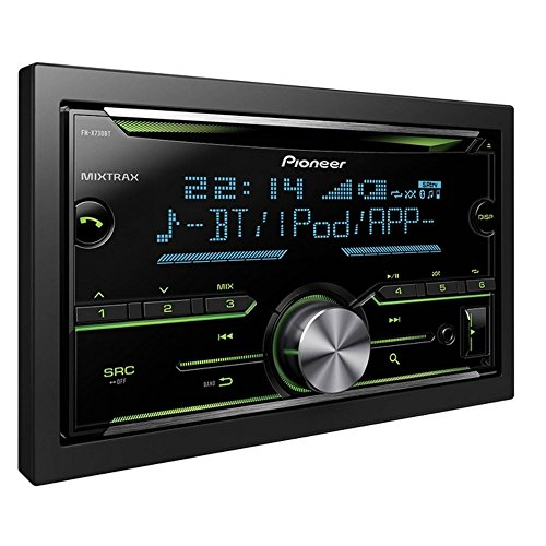 Pioneer FH-X730BT R,CD con MP3 y Bluetooth 2 DIN