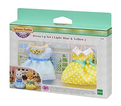 Sylvanian Families 5370 Dress Up Set-Light Blue & Yellow, Mehrfarbig (Dress Familie Up)