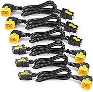 Power Cord Locking, C19 to C20 (90 Degree), 1.8m