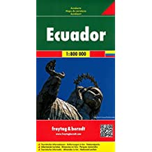 Freytag Berndt Autokarten, Ecuador - Galapagos - Maßstab 1:800 000 (freytag & berndt Auto + Freizeitkarten)