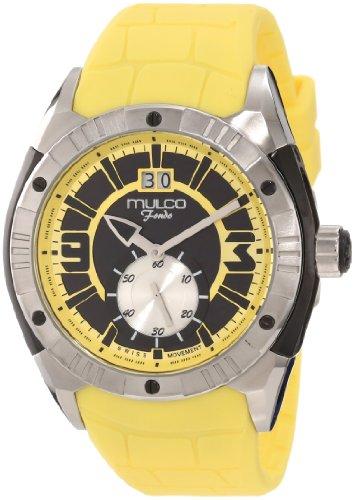 Mulco Unisex MW1-18265-095 Fondo Croco Swiss Movement Watch