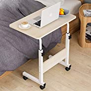 Mumoo Bear Adjustable Computer Table Movable Sofa Bed Table Laptop Computer Stand Desks for Office, Home Study