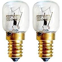 Philips 038715, Bombillas 25 W SES E14, rosca pequeña pigmea lámparas, ...