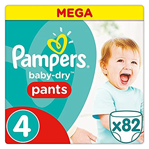 Pampers - Baby Dry Pants - Couches Taille 4 (8-14