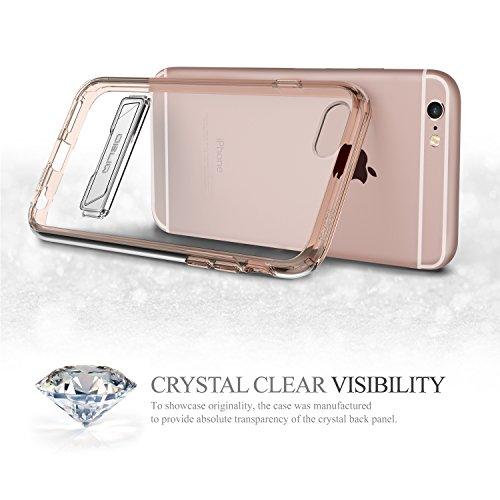 Obliq [Série Naked Shield] Coque iPhone 6S / 6S Plus, plastique metal, rose gold, iPhone 6s Plus rose gold